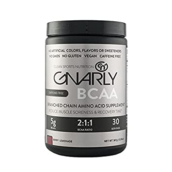 Buy Gnarly Bcaa Workout Supplement Caffeine Free All Natural