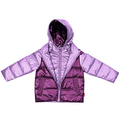 (One Kid Car Seat Safety Road CoatDown Jacket - Lilac/Plum)