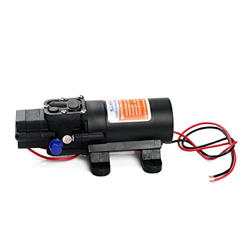 MarineNow's 24V SEAFLO Water Pressure Diaphragm Pump 4.3 L/min 1.2 GPM 35 PSI - Caravan/rv/boat/marine