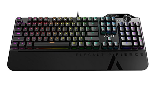 Azio Mgk L80 Mechanical Gaming Keyboard (Brown K-SWITCH/RGB Backlight) MGK-L80-01 For Sale