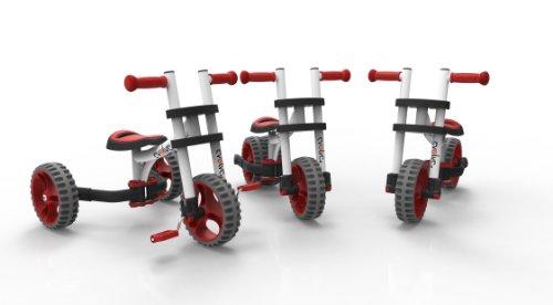 YBIKE Evolve Ride-On Balance Bike, White, 12cm