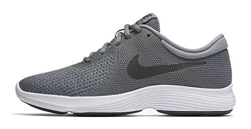 Nike Jungen Revolution 4 (GS) Laufschuhe DARK GREY/BLACK-COOL