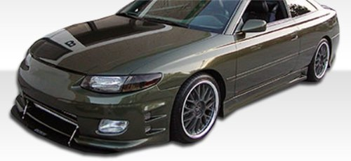 1999-2001 Toyota Solara Duraflex VIP Kit- Includes VIP Front Bumper (102173), VIP Rear Bumper, and VIP Sideskirts (102174). - Duraflex Body Kits