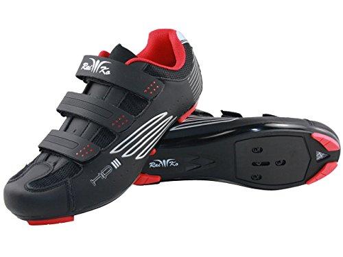 Raiko Sportswear HP3 Rennradschuhe Schwarz