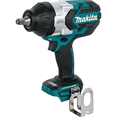Makita XWT08Z  LXT Lithium-Ion Brushless Cordless High Torque Square Drive Impact Wrench, 18V/1/2