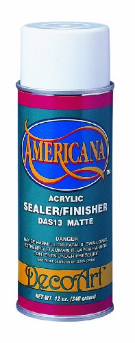 Deco Art 12-Ounce Americana Acrylic Sealer/Finish Aerosol Sp