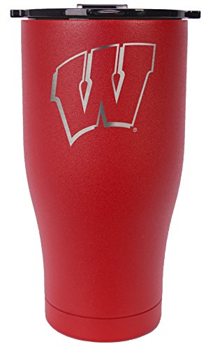 ORCA Chaser Laser Etched University of Wisconsin Cooler, Red, 27 oz by ORCA