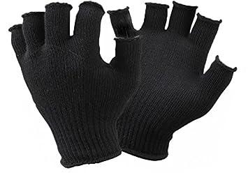f81360eadeb50d SealSkinz Handschuhe Fingerless Merino Liner Black, One Size: Amazon ...