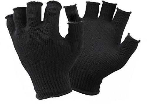 gerless Gloves Liner, One Size, Black ()