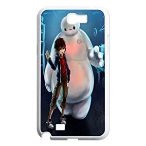 Cartoon Movie Big Hero 6 Pattern Productive Back Phone Case For Samsung Galaxy Note 2 Case -Style-13
