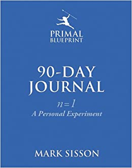 The primal blueprint 90 day journal a personal experiment n1 the primal blueprint 90 day journal a personal experiment n1 mark sisson 9780984755141 amazon books malvernweather