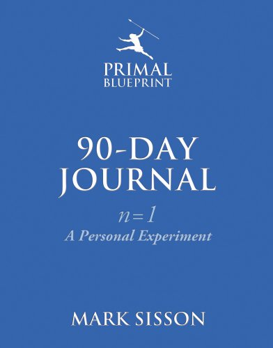Jersey Blueprint - The Primal Blueprint 90-Day Journal: A Personal Experiment (n=1)