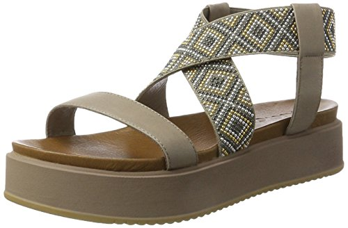 Inuovo 7280 - Tacones Mujer Gris