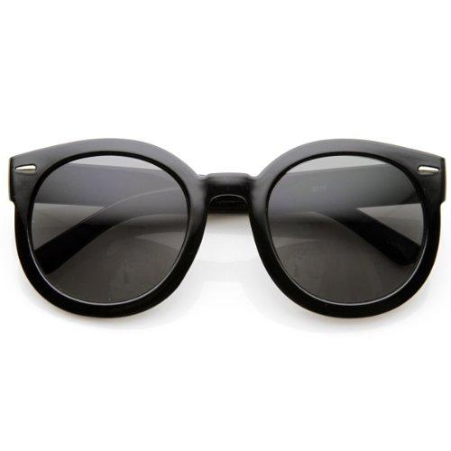 zeroUV - Womens Plastic Sunglasses Oversized Retro Style wit