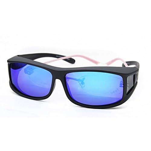 29c3bfe158 MOLA polarized sunglasses fit over prescription glasses men medium mirror  lens delicate