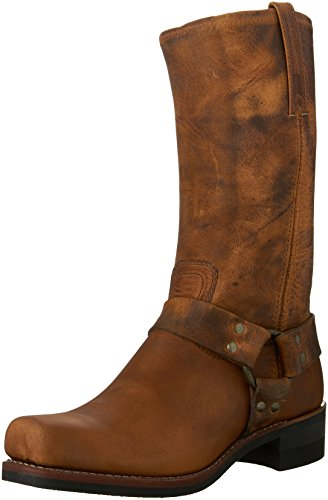 - FRYE Men's Harness 12R Boot,Dark Brown-87350,10 M US