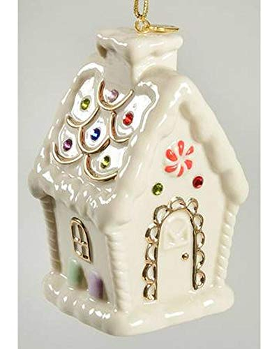 - Lenox 2015 Holiday Gems Gingerbread House Ornament