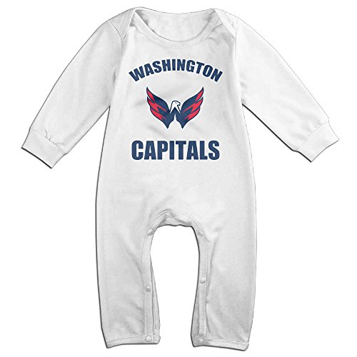[HOHOE Babys Washington Mascot Hockey Long Sleeve Bodysuit Outfits 6 M] (Hockey Stanley Cup Costume)