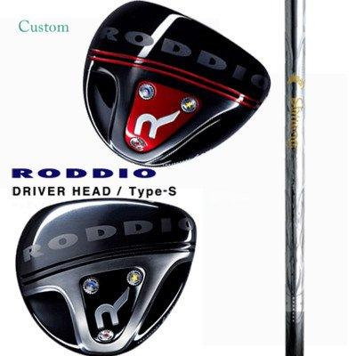 RODDIO ドライバー Type-S 鎬 Athlete アスリート T-60 SR 10.5°/シルバーフェース   B01BLXY0LO