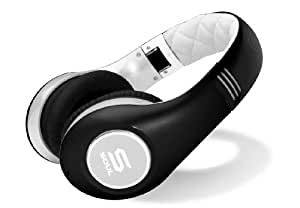 SOUL by Ludacris SL300WB High Definition Noise Canceling Headphones (Black/White) (Discontinued by Manufacturer)
