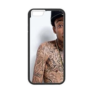 iPhone 6 Plus 5.5 Inch Cell Phone Case Black Rapper Wiz Khalifa Dqxia