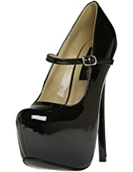 The Highest Heel Womens BOMBSHELL-51 Maryjane Style
