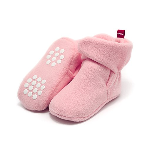 Baby Girl Pink Pram Shoes - 6
