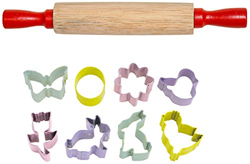 rant Colorful Mini Easter Oval Cutter Gift Set (8-Piece) ()