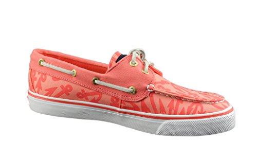 Sperry Bahama Coral/Anchors Bootsschuhe Segelschuhe Sneaker Damen