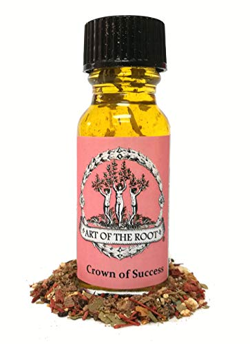 (Crown of Success Oil for Victory, Success, Goals & Prosperity Hoodoo Voodoo Wiccan Pagan Conjure )