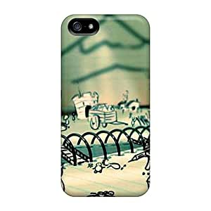 Sanp On Case Cover Protector For Iphone 5/5s (doodle Land)