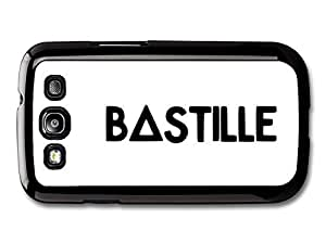 AMAF ? Accessories Bastille Band Black and White Simple Logo case for Samsung Galaxy S3