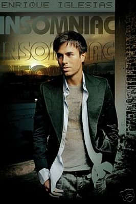 (Enrique Iglesias Poster - Insomniac - New Hot)
