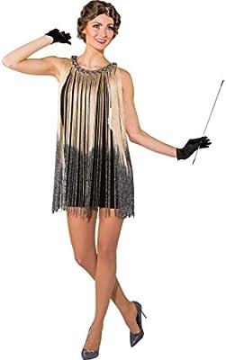 Amakando Traje Flapper - con Franjas | Vestido Charleston ...