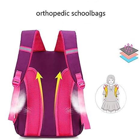 Amazon.com: 2018 Kids School Bags for Girls Princess Book Bag Orthopedic Waterproof Backpack Satchel Mochila Infantil Zip Escolar: Kitchen & Dining