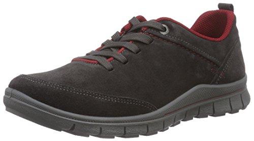 Legero SALO - zapatos con cordones de piel mujer gris - Grau (LAVAGNA KOMBI 99)