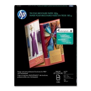 (HEWQ5443A - HP Inkjet Tri-Fold Brochure Paper)