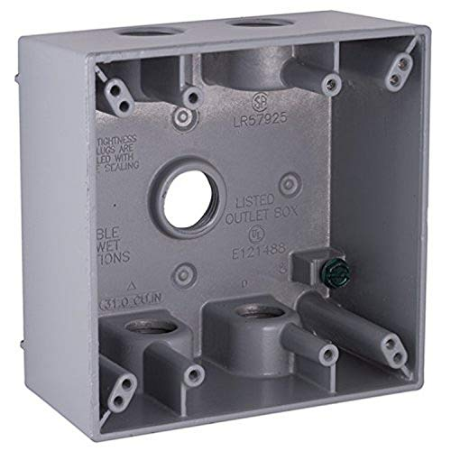 Bell Outdoor 5337-5 Two Gang Weatherproof Box
