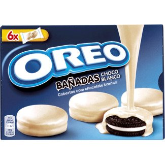 Nabisco Oreo - WHITE CHOCOLATE Cookies Dipped / Covered - 246gr / 8.67oz (3 Boxes PACK)
