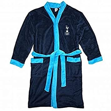 Official Spurs Football Crest Dressing Gown (Adults): Amazon.co.uk ...