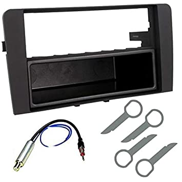 Sound-Way Kit Montaje Radio Marco embellecedor de Radio 1 DIN Audi A3 2006 - 2010: Amazon.es: Coche y moto