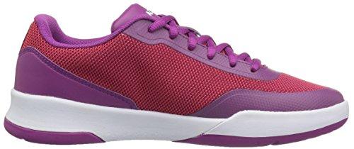 Women's 2 Purple Lacoste Light Red 117 Fashion Spirit Sneaker 1wqd76Rxd