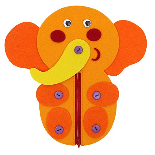 Refaxi 安全な無毒の布の幼稚園のボタン編成のおもちゃDIYの家庭の赤ちゃんの寝室
