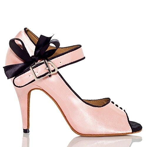 Pink femme de 10cm Miyoopark bal Salle heel SwIqPW06c
