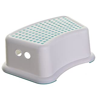Dream baby Multi-Purpose Step Stool gives children a sense of independence by enabling them to reach areas that are still just a bit too high. with the non-slip base and sure grip top, it's perfect for nearly any location and floor surface. The Step ...
