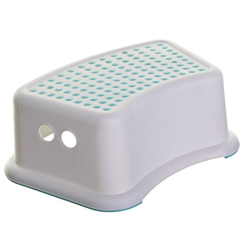 Dot Baby Bath - Dreambaby Step Stool, Aqua Dots