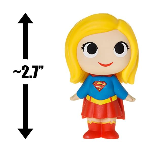 41vOdypq4cL Supergirl: 2.7in Funko Mystery Minis Vinyl Figure Bundle with 1 Compatible 'ToysDiva' Graphic Protector (11346 - B)
