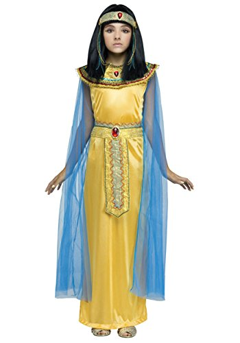 Girls Golden Cleopatra Costume - M -