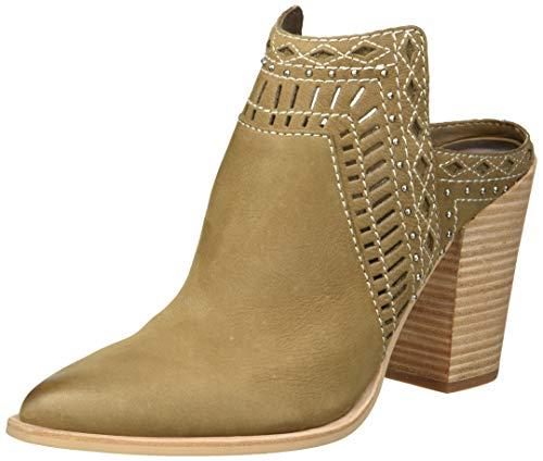 Dolce Vita Women's KHIA Ankle Boot, Olive Nubuck, 9 M US
