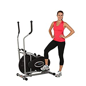 Amazon Com Exerpeutic Aero Air Elliptical With Equipment